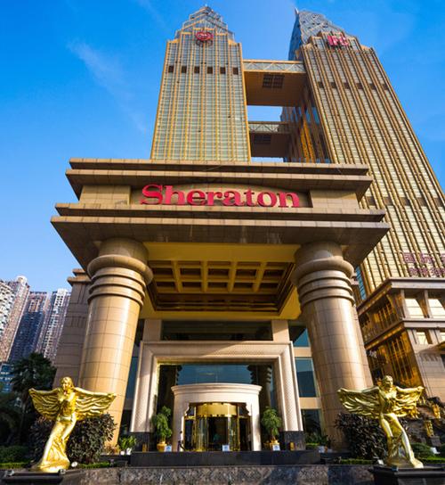 龙美达石材集团作品重庆喜来登大酒店