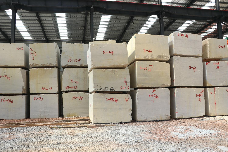 龙美达云浮工厂荒料堆场